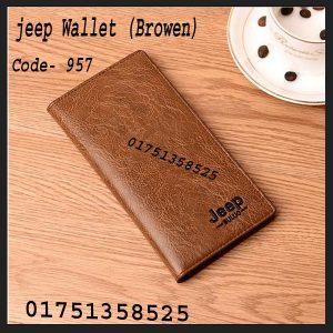 jeep long wallet